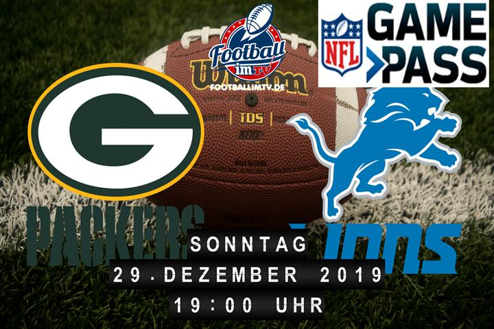 Green Bay Packers @ Detroit Lions