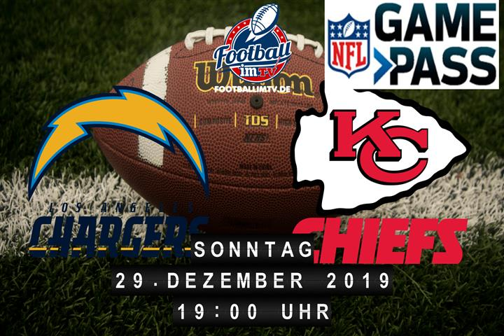 Los Angeles Chargers @ Kansas City Chiefs