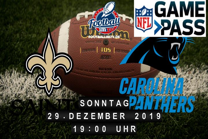 New Orleans Saints @ Carolina Panthers