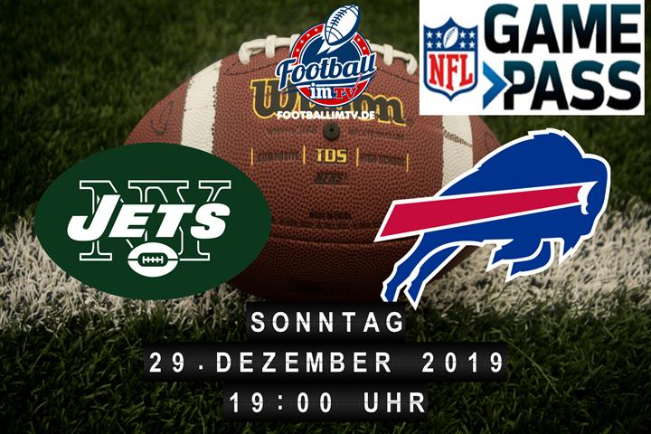New York Jets @ Buffalo Bills