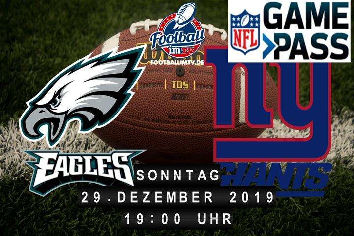 Philadelphia Eagles @ New York Giants