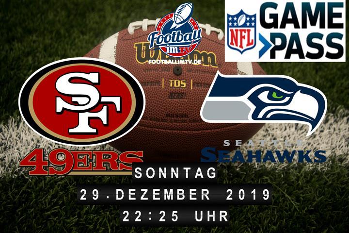 San Francisco 49ers @ Seattle Seahawks