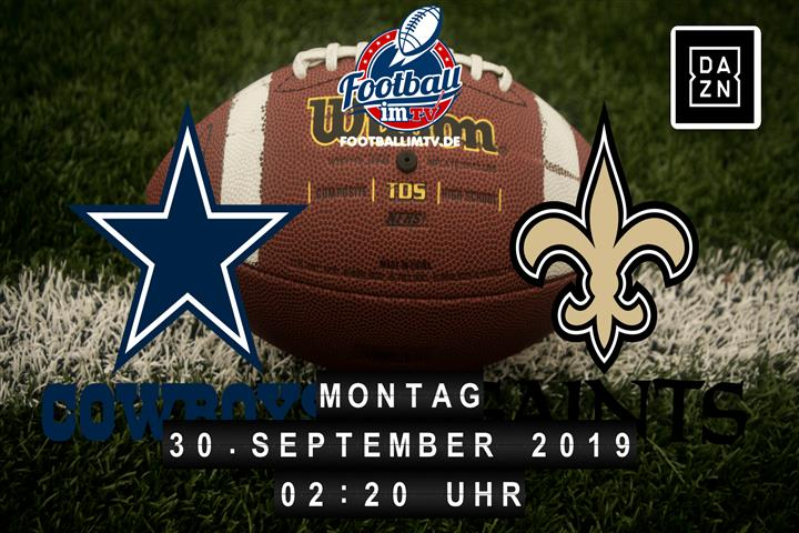 Dallas Cowboys @ New Orleans Saints